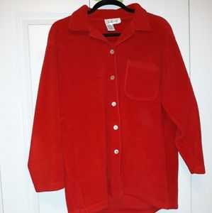 Talbots Red Jacket/shirt